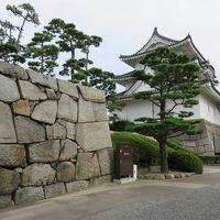青春切符で高松で最初に下車し、高松城址(玉藻公園)を散歩する