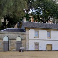 ブルーマウンテンズドライブ旅行13-The Rocks散歩,Harbour Bridge,シドニーで一番古いパブ Fortune of War,シドニー博物館