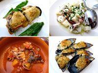プーリア・レンタカーの旅2017【11】 ブリンディジ 古代ローマゆかりの地で食べる、美味しい魚介料理に舌鼓♪
