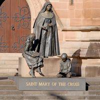 ブルーマウンテンズドライブ旅行14終-St.Andrew's Cathedral,ハイドパーク,St Mary's Cathedralなど,帰国
