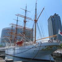横浜みなとみらいの「帆船日本丸」と「横浜みなと博物館」を見学