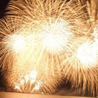 2017年 8月 滋賀県 大津花火大会「打ち上げ花火 下から見て来ました。」