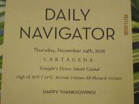 F4.Fort LauderdaleからSan Diegoまでの16日間の船旅★5.Thursday - Nov 24, 2016 Cartagena, Colombia