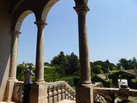 プーリア州優雅な夏バカンス♪ Vol80(第5日) ☆Conversano:美しい古城「Castello di Marcione」 テラスから眺めて♪
