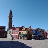ヴェネツィアはムラーノ島6泊の旅その2(レースの島ブラーノ、やっと本島へ)
