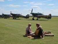 2017 英国ミリタリー紀行 � FLYING REGENDS航空ショー 第二次世界大戦プロペラ機乱舞ショー