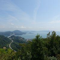 因島の散歩、白滝山の絶景と因島大橋