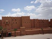 初アフリカはモロッコへ� - ワルザザート