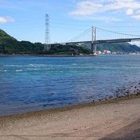 九州から本州へ自転車で。あの方に遭遇!