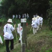 2005年(平成17年)7月仕事の研修会?で四国のお遍路さん(1~8番車)(3~4番札所を歩きます)