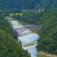 会津旅04 只見線第一橋梁を望む〜福満虚空蔵尊円蔵寺