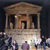 ロンドン7日目(3月27日)  大英博物館   /   バンコク1日目 (3月28日) バン・クン・メーで夕食