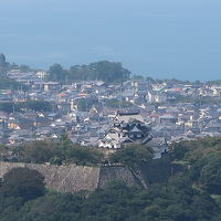新旧の彦根の城(彦根・佐和山)と竹生島湖上の船旅