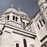 2017年9月 スイス・フランスの旅 パリ編� サクレ・クール寺院