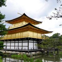 フィンランドの友人と奈良・京都へ6-定番の金閣寺に行く