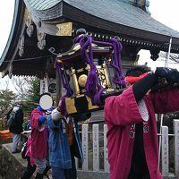 秋の筑波山と御座替祭