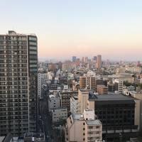 後泊、大阪。