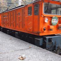 黒部峡谷トロッコ電車(列車)に乗りました