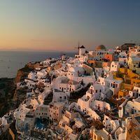世界一の夕陽が見れる場所〜サントリーニ島〜