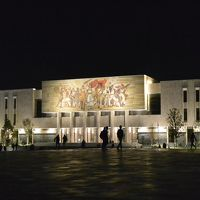 Balkan Adventures 7 days tour 9. アルバニアの首都ティラナ