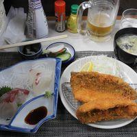 TV 孤独のグルメで放映された鯵フライを食べに浜金谷へ。岬カフェで珈琲も。