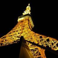 ひとり旅★東京美術館巡り(2) ●ホテルにチェックイン、夜景を見に初の東京タワーへ♪