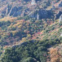 日本三大奇渓の一つ小豆島寒霞渓