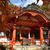 秋の南都で寺社巡りと紅葉狩り(奈良市)