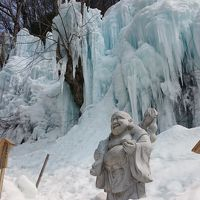 2泊3日 白川郷と飛騨高山に、絶景と絶品あり (8-6) 氷の渓谷と氷の大滝