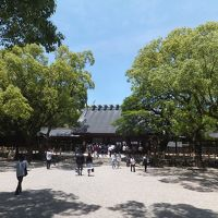 2017 またまた静岡遠征+野球観戦でナゴドーへ【その2】夏の風物詩赤福氷と初めての熱田神宮