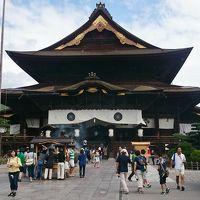 長野県 名湯巡りと息をのむ絶景の雲海 (9-2) 善光寺と仲見世通り復路