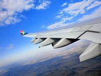 ジンバブエ 南アフリカ航空 SA286 ビクトリアフォールズ ビクトリアの滝 香港経由 キャッセイパシフィック航空 CX500