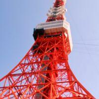 芝公園 東京タワー  竣工59年目/直下からの視点新鮮 ☆大展望台まで600段上がった日も