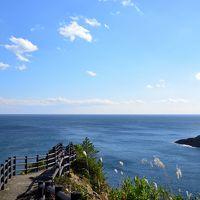 たまさかに、初冬を迎えた南国宮崎を縦断する旅【1】日向編� 〜柱状節理の断崖と十文字を象る海 日向岬の絶景スポットへ〜