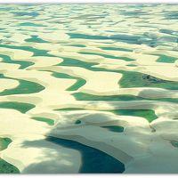 #11 Oh...Meu Deus!...ブラジル北部 水の砂漠:レンソイス・マラニャンセス国立公園を空から見下ろす(マラニャン州/ブラジル)