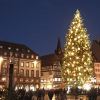 クリスマスの首都に行く。ストラスブール。