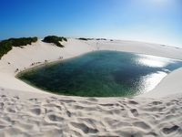 ブラジル北部 水の砂漠:レンソイス・マラニャンセス国立公園−写真、おまけ 1−(マラニャン州/ブラジル)