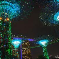 2017 『うっとり夜景シンガポール5日間』Part � シンガポール観光二日目 夜景ハンター(夜の市内観光編)!