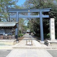 【東京散策69-3】 黒鳥居が珍しい吉田松陰が祀られた松陰神社