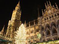 ドイツ旅行記(ミュンヘン・クリスマスマーケット・レジデンツ・ノイシュバンシュタイン城・ヴィ—ス教会・アウグスブルク・ローテンブルグ・ニュルンベルク・ニンフェンブルグ城)1・2日目