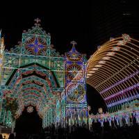 神戸 ルミナリエとANAクラウンプラザホテル神戸宿泊