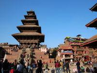 ネパール旅行�(バクタプルからナガルコット)
