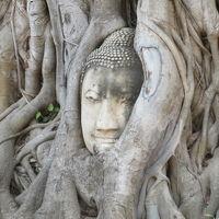 タイ 「行った所・見た所」 アユタヤ(ワットプラシーサンペットとワットマハタート)
