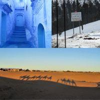 エキゾチックモロッコ・幻想のサハラ砂漠 11日間
