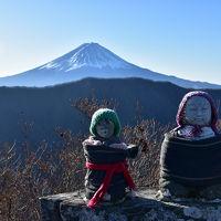 釈迦ヶ岳〜黒岳 周回 今年も富士を見て山納め