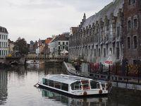 フランドルの交易ギルトの歴史の残る街、ゲント