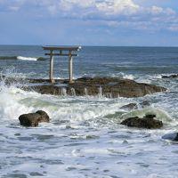 青春18きっぷで、大洗磯前神社へ初詣&海岸ウォーキング
