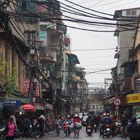 ベトナム北部の旅01 出国〜SIM探しがてらのハノイ街歩き