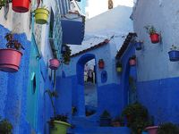 激走2400キロ 悠久のモロッコ 8日間の旅  フォトジェニックな青い街・シャウエン篇