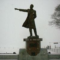 冬の北海道へNRT⇒CTS・・初の雪の中の観光へ 1日目